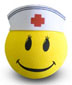 Nurse Antenna Smiley Face